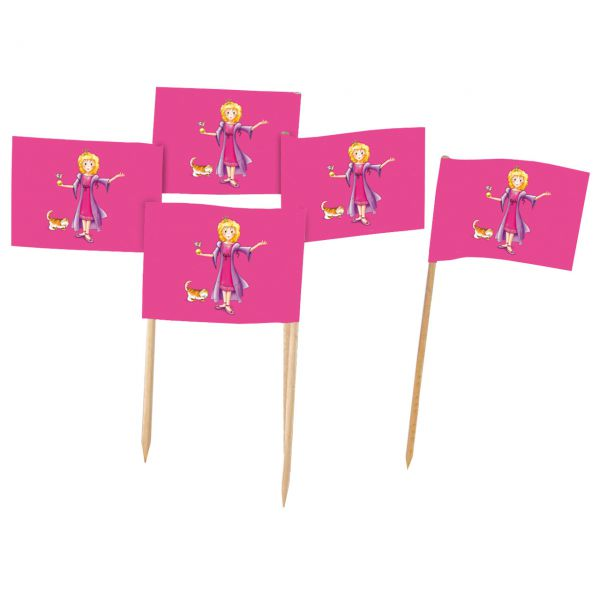 Party-Picker Fähnchen Prinzessin, pink