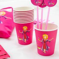 Trinkbecher Prinzessin 200ml, pink
