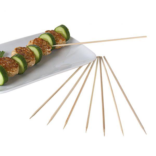 Bambus-Spieße einseitig spitz, natur