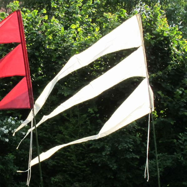 Maxi-Windflagge, sandhell