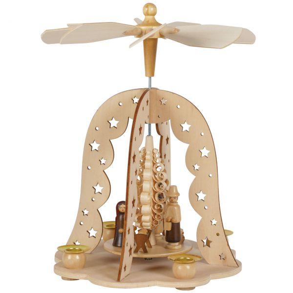 Weihnachts-Pyramide Glocke Krippe