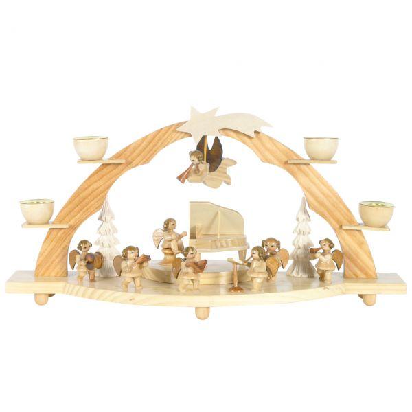 Schwibbogen Große Engel-Kapelle, Kerzen