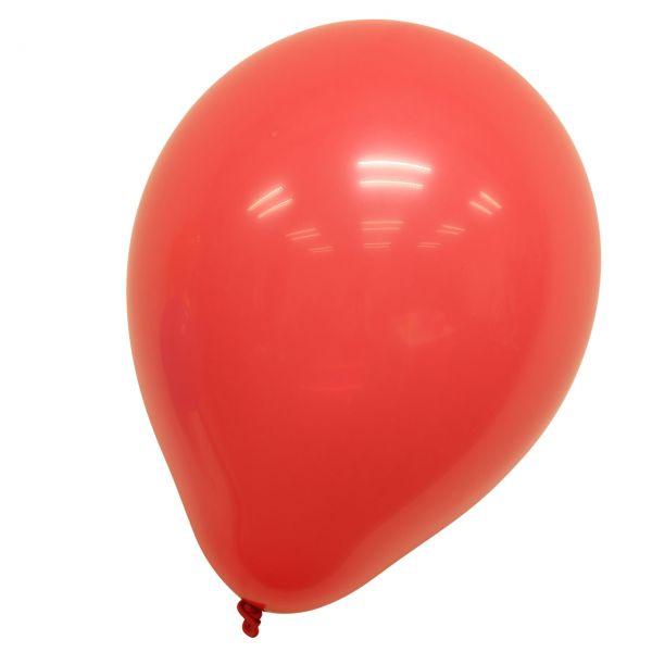 Luftballons, rot