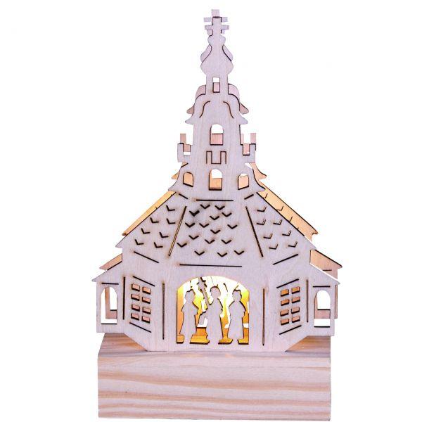 Kirche, Könige LED-Beleuchtung, natur