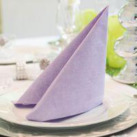 Einweg Serviette Baumwolle, Classic lila