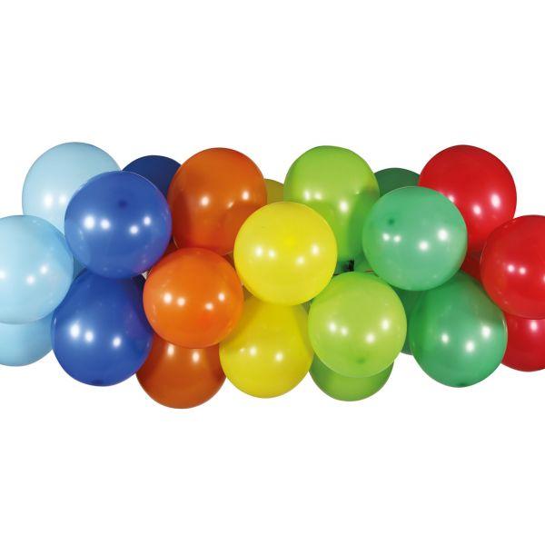 Luftballon Girlande 80 Stück, bunt