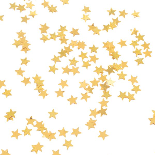 Streudeko Stern, gold