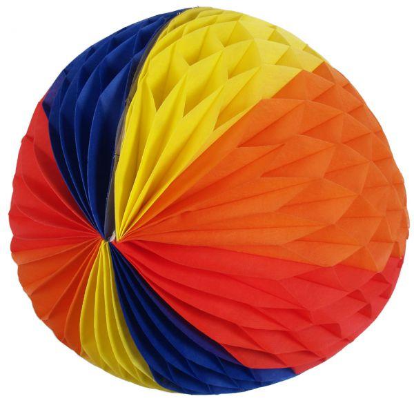 Maxi Wabenball, Ø 50cm, regenbogen