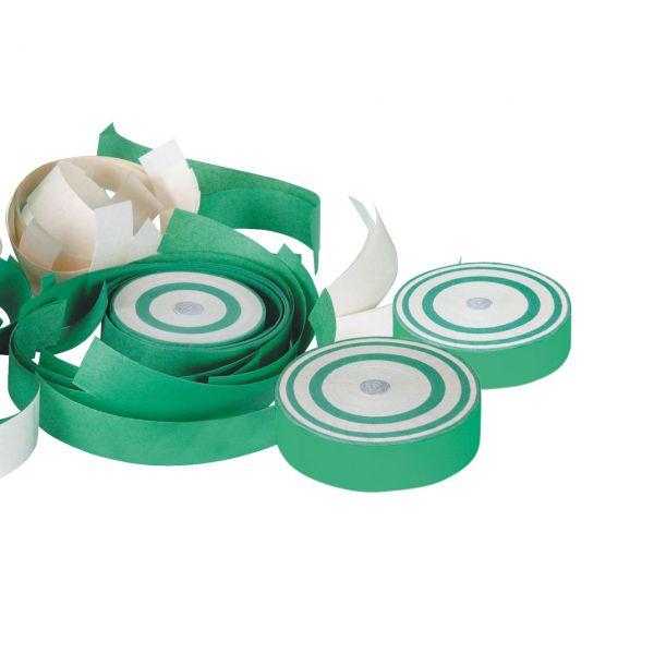 Konfetti Frisbee, grün-weiß