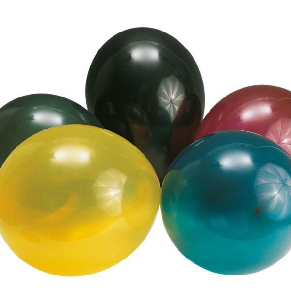 Luftballons kristall, bunte Mischung