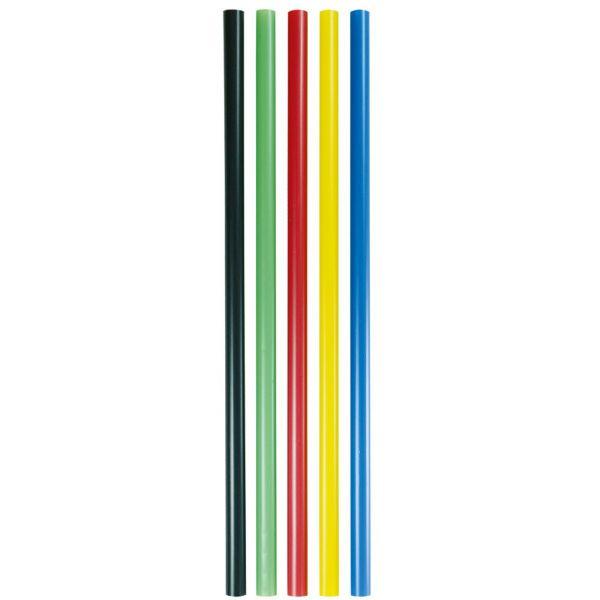PLA Trinkhalm Jumbo 0,8 x 25 cm, bunt gemischt