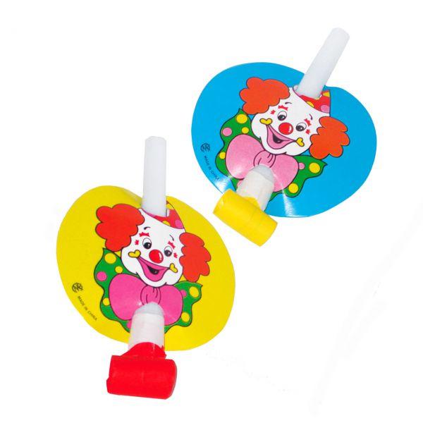 Clown Tröte Papier, bunt