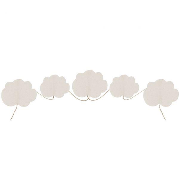 Girlande Wolken natur