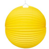 Lampion, gelb