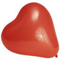 Luftballons Herzen, rot Inhalt:10 Stück