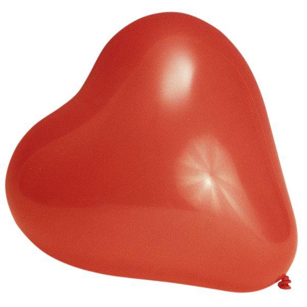 Luftballons Herzen, rot