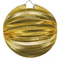 Lampion metallic, gold