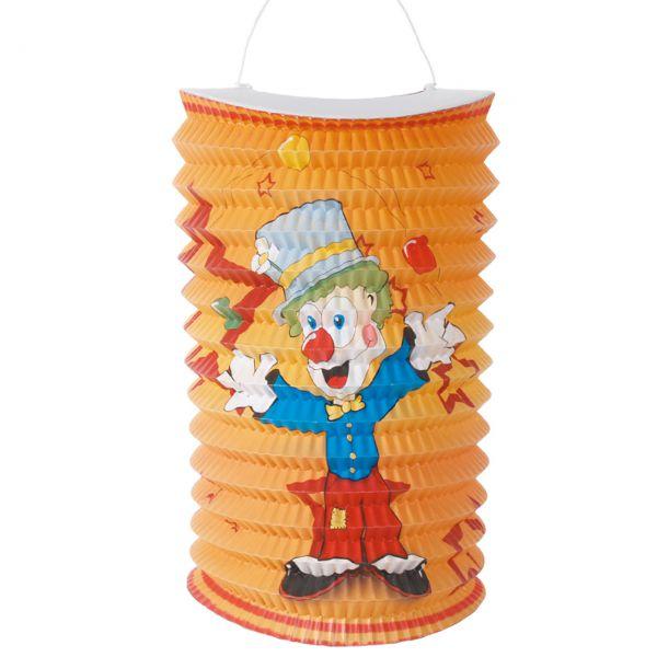 Kinder Zuglaterne Clown, bunt