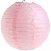 Deko-Lampion, rosa Ø 20 cm
