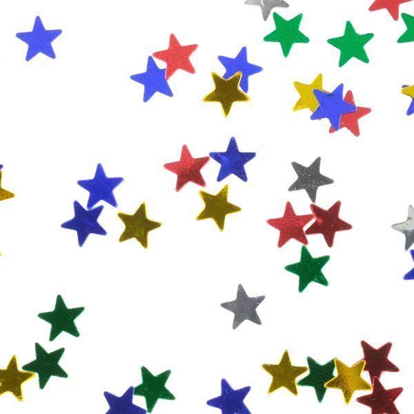 Streudeko Sterne, bunt