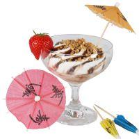Party-Picker Eisschirmchen, bunt 6 Stück