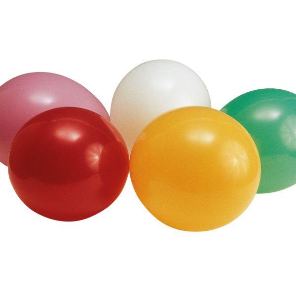 Luftballons groß, Ø: 30 cm, bunte Mischung