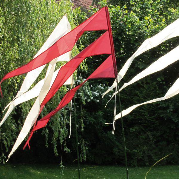 Maxi-Windflagge, bordeaux
