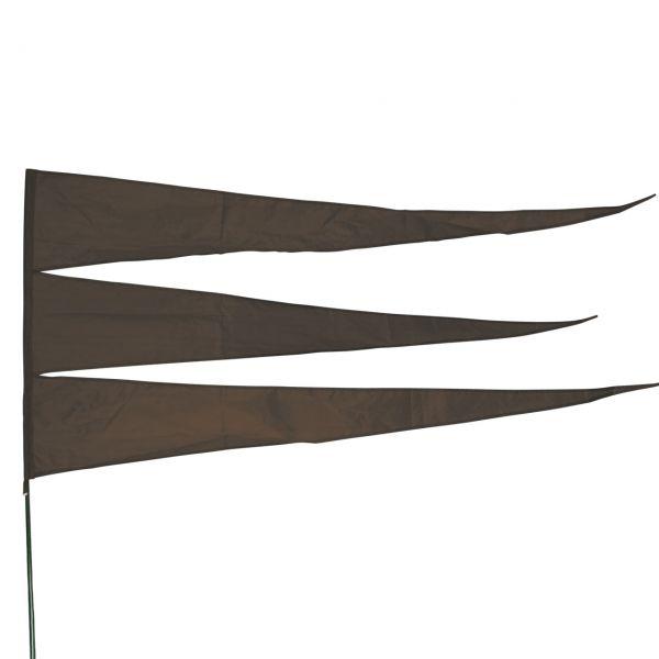 Maxi-Windflagge, dunkelbraun