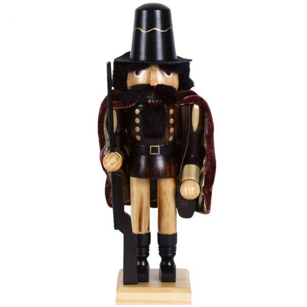 Nussknacker Musketier 25cm, braun