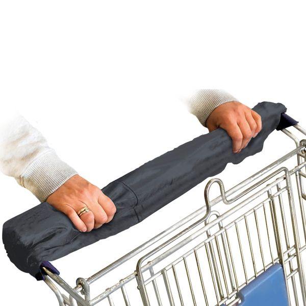 Griffschutz für Einkaufswagen, anthrazit