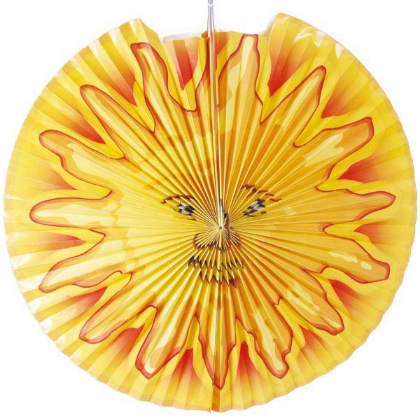 Kinder-Laterne Sonne, gelb