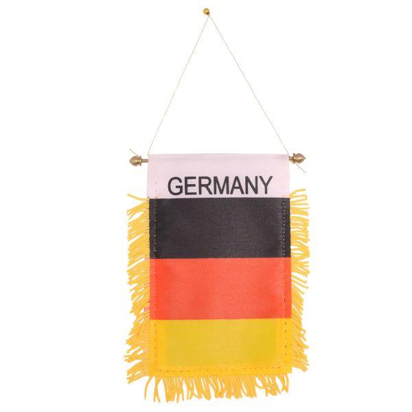 Mini-Wimpel Deutschland, schwarz-rot-gold