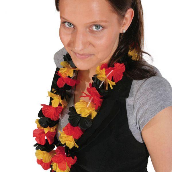 Hawaii-Kette Deutschland, schwarz-rot-gold