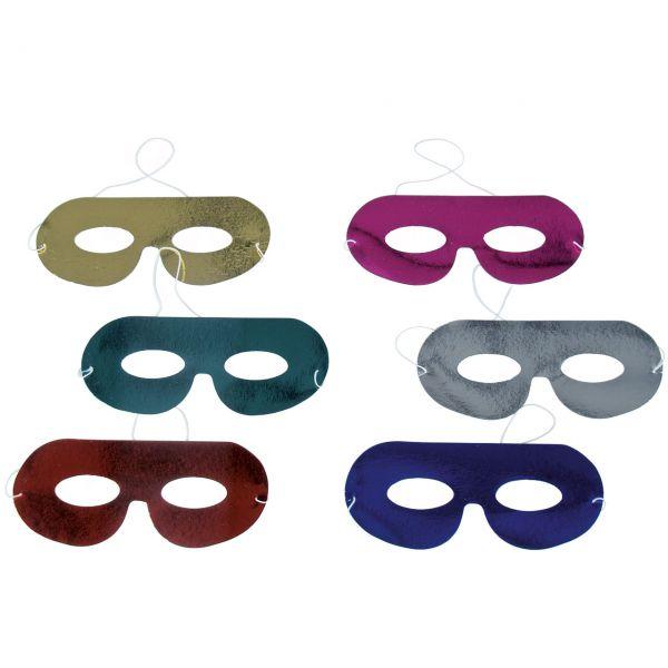 Karnevals-Masken, bunt