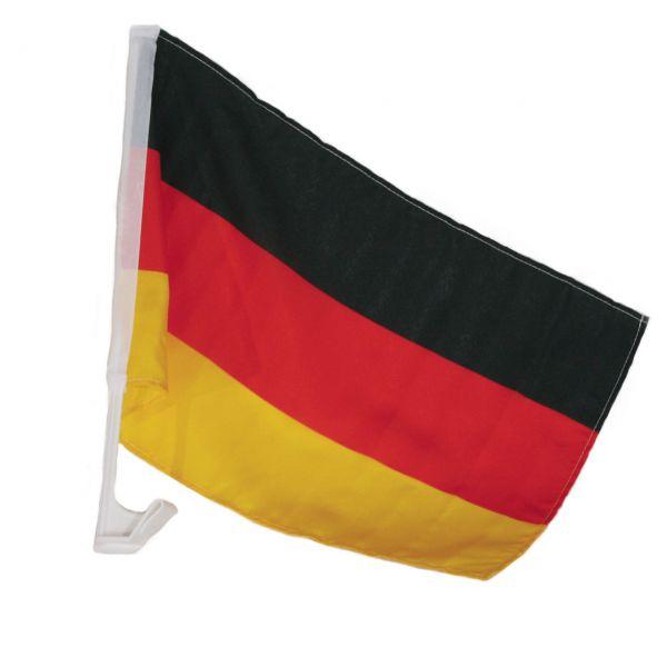 Autofahne Deutschland (47x 29cm), schwarz-rot-gold