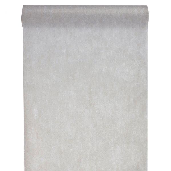 Tischläufer B: 30cm x 10m, grau
