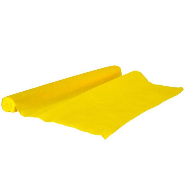 Krepppapier, gelb