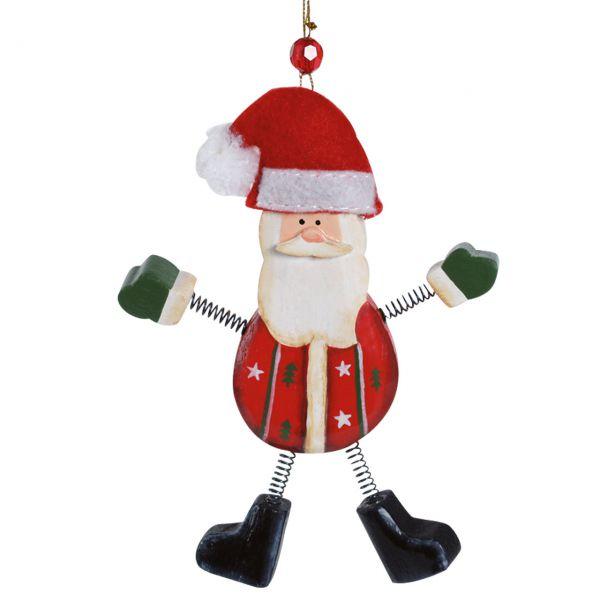 Anhänger Weihnachtsmann, Holz