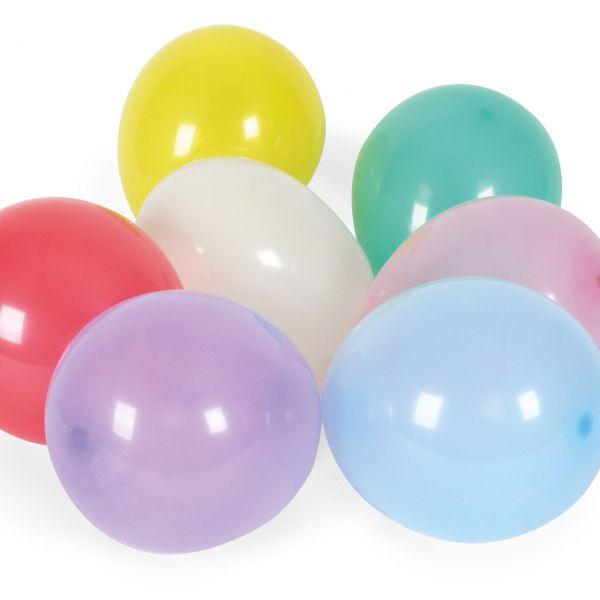 Luftballons Minis, Ø 15 cm, bunte Mischung