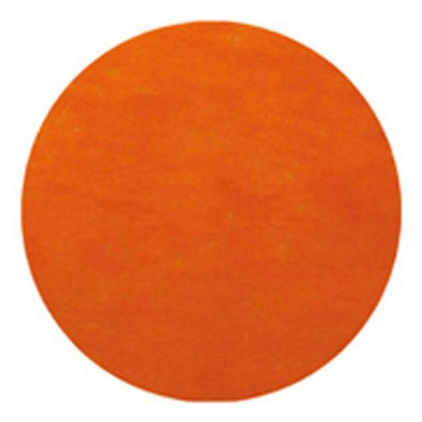 Tischset rund 10 Stück, orange