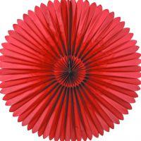 Maxi Deko-Fächer Ø 120 cm, rot