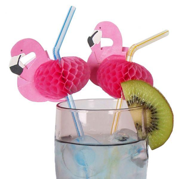 Knick-Strohhalm Flamingo, pink