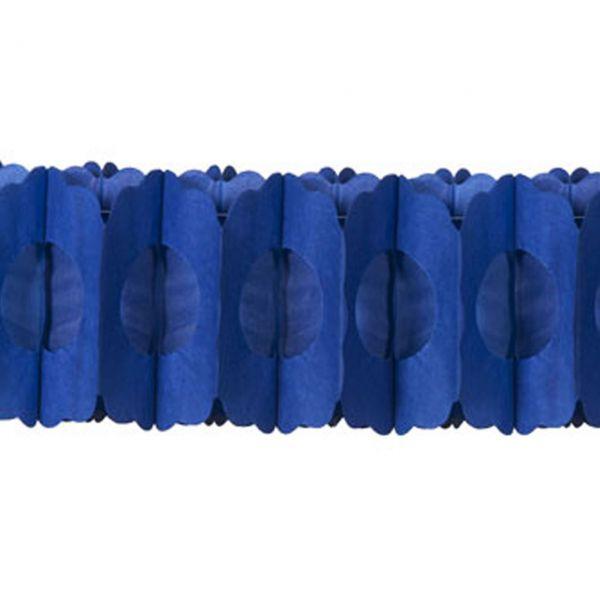 Girlande 3D, blau