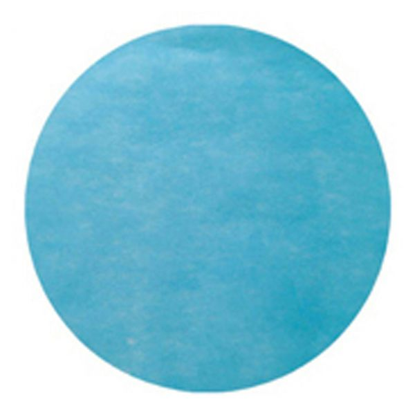 Tischset rund, blau-türkis