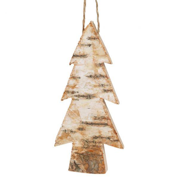 Anhänger Holz, Tannenbaum