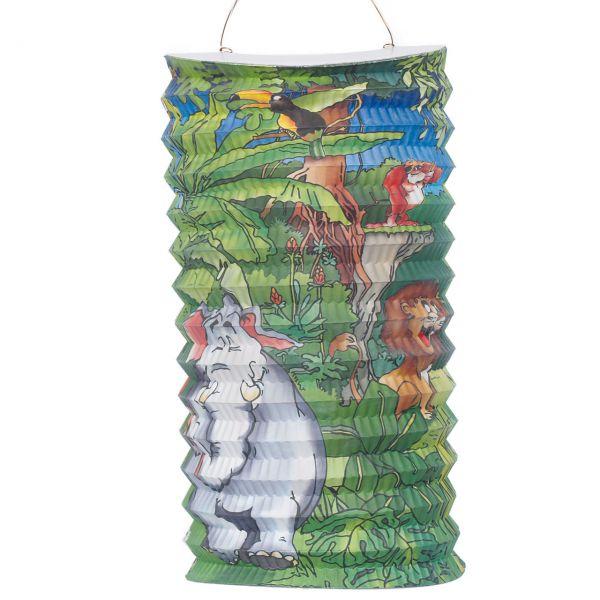 Kinder-Laterne Dschungel, bunt