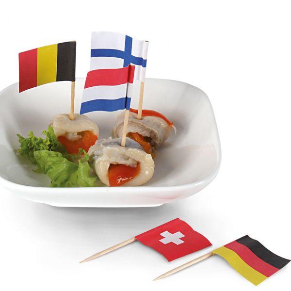 Party-Picker Flagge Nationen, bunt