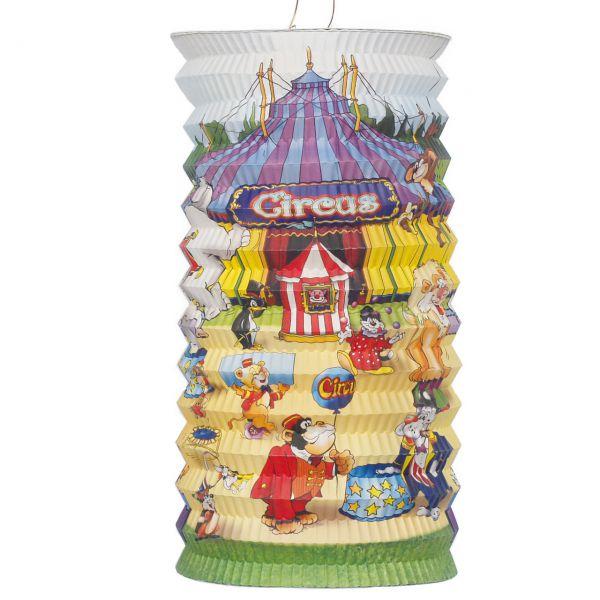 Kinder-Laterne Zirkus, bunt