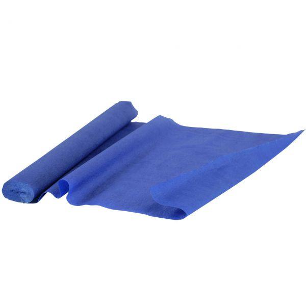 Krepppapier, blau