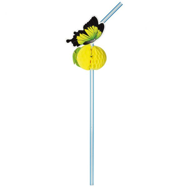 Knick-Strohhalm Schmetterling, bunt